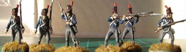 Belgian Infantry circa Waterloo