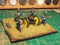 HaT Swedish Napoleonic Artillery