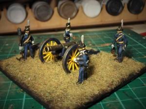 HaT Swedish Napoleonic Artillery