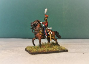 NCO Red Lancer with pistol.
