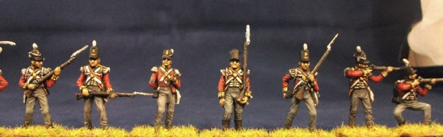 Italeri British Waterloo Infantry