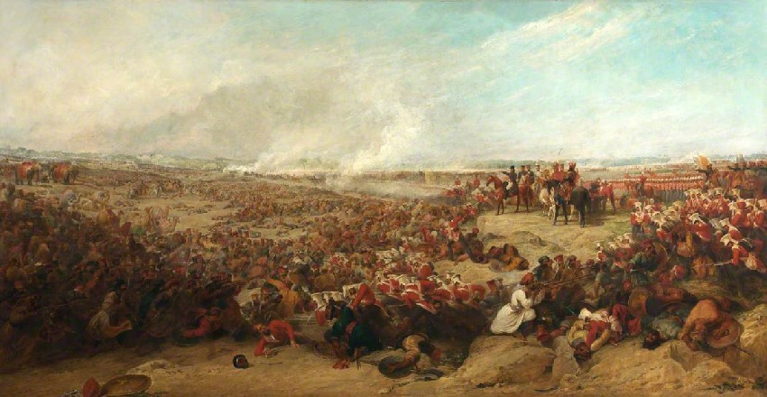 Jones, George, 1786-1869; The Battle of Meeanee, 17 February 1843