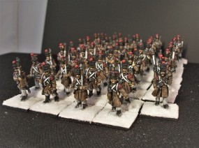 Strelets French Infantry Marching (1)