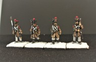 Strelets French Infantry Marching (4)