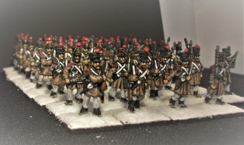 Strelets French Infantry Marching (9)