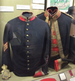 NCO stable Jacket; Officer's Mess jacket c.1910.