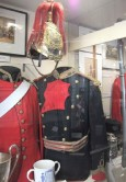 Officer's Full-Dress tunic worn by Lt.Col. Lloyd.