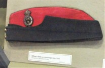 Officer's Field Service Cap, c.1900.
